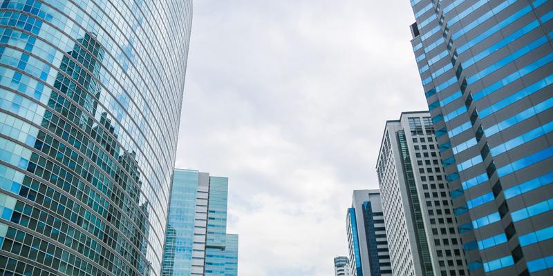 金融街ビル群