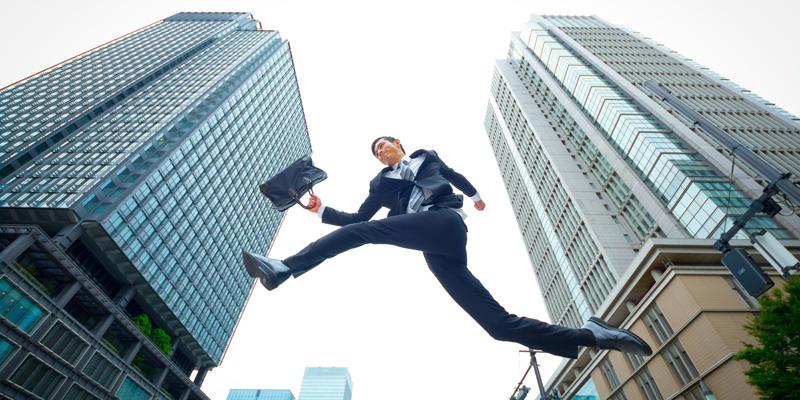 企業をジャンプ